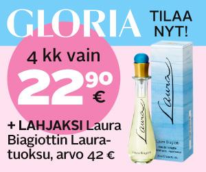 Gloria tarjous 2013