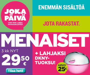 Me naiset ja DKNY tuoksu